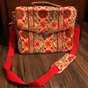 👛 LN Vera Bradley brand computer bag/briefcase